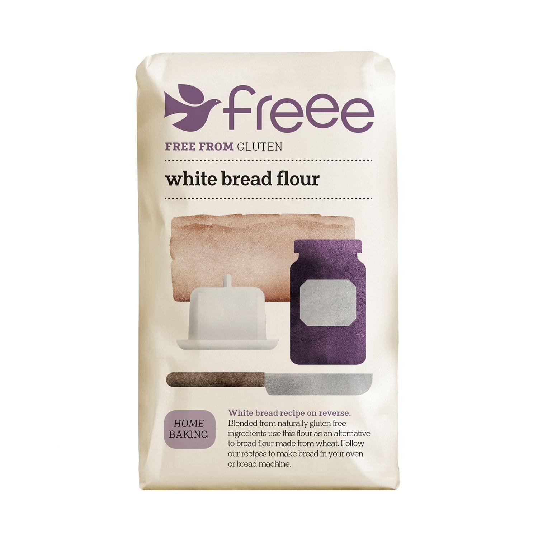 תערובת קמחים ללחם - ללא גלוטן FREEE